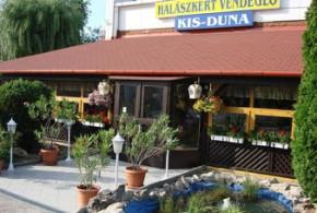 Halászkert Étterem, Kis-Duna Motel és Camping